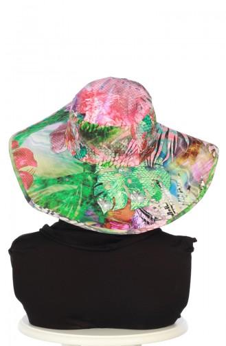Bonnet Avec Chapeau à Motifs SP001-01 Corail 001-01