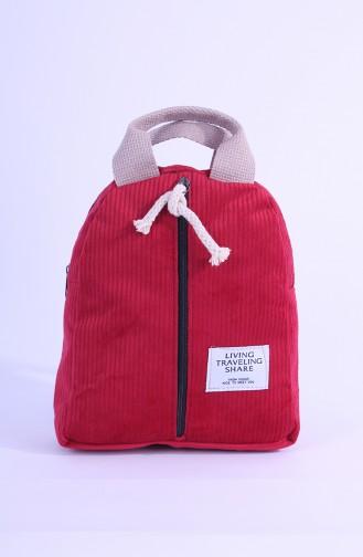 Lady Backpack Erd16-09 Red 16-09