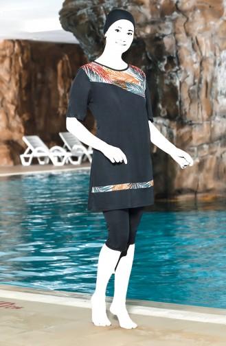 Anthracite Swimsuit Hijab 0208-01