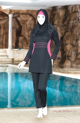 ملابس السباحة فحم الإنتراسيت 0308-03
