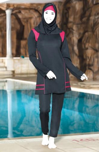 ملابس السباحة فحم الإنتراسيت 0309-01