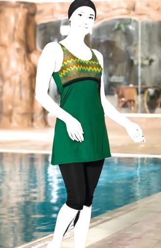 Garnili Havuz Mayo 4099A-01 Yeşil