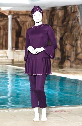 Hijab Badbekleidung 4301-03 Lila 4301-03