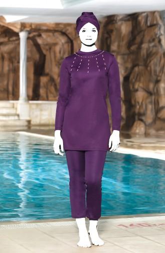 ملابس السباحة أرجواني 4305-02