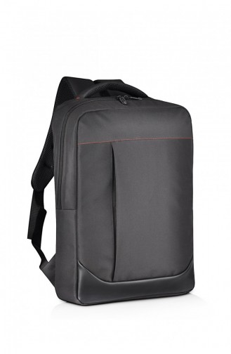European Bag 00001 Black Fabric Backpack 0500001103912