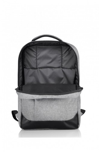 European Bag 00002 Gray Fabric Backpack 0500002104912