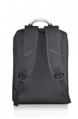 European Bag 00020 Anthracite Fabric Backpack 0500020105912
