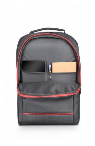 European Bag 02260 Black Fabric Backpack 0502260103941