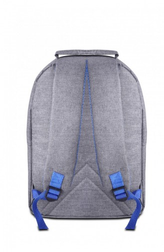 Avrupa Çanta 02270 Gri Kumaş Sırt Çantası