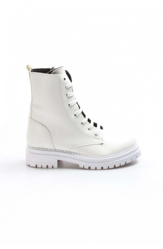 Fast Step Boots White 629sza019210 629SZA019-210-16777215