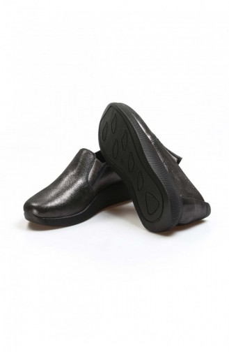 Fast Step Günlük Ayakkabı Hakiki Deri Çelik Simli Casual Ayakkabı 888Za291