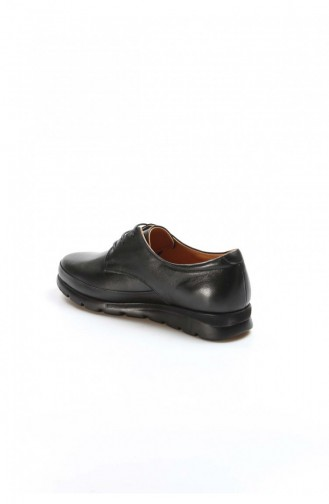 Fast Step Black Real Leather Daily Casual Shoes 863Za20551 863ZA2055-1-16782021
