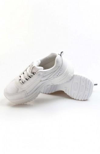 White Sport Shoes 865ZA5029-16777215