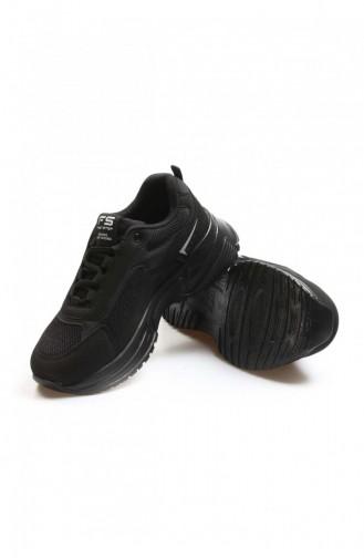 Fast Step Spor Ayakkabı Siyah Sneaker Ayakkabı 865Za5029
