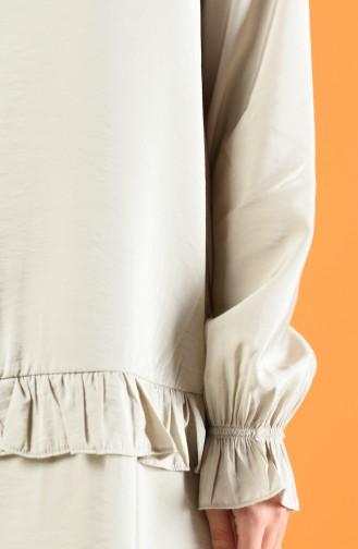 Aeroben Fabric Tunic Trousers Double Set 8200-03 Rock 8200-03