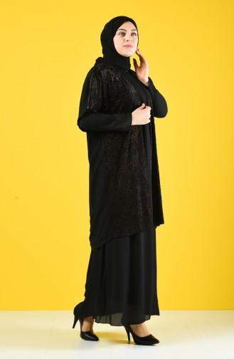 Flock Printed Double Suit 9y6961700-01 Black 9Y6961700-01