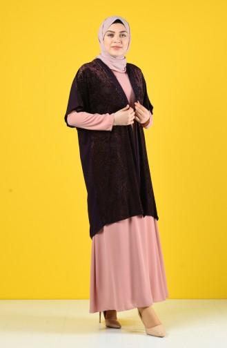 Flock Printed Double Suit 9y6961700-02 Purple Powder 9Y6961700-02