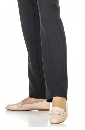 Damen Ballerina 1700-03 Beige Leder 1700-03