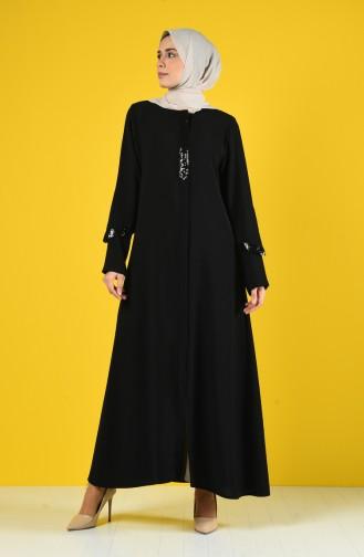 Black Abaya 1059-01