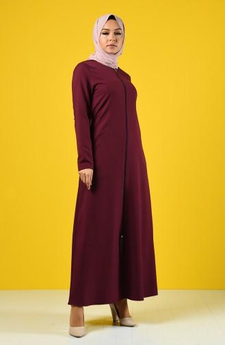 Damson Abaya 2138-06