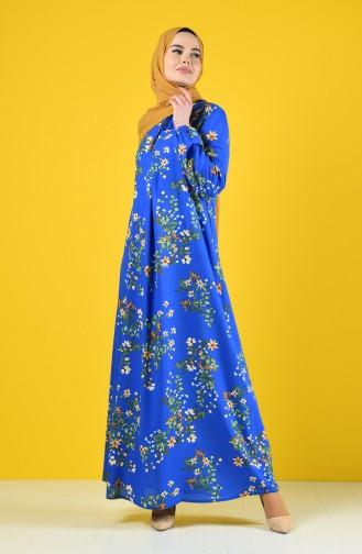 Saxon blue Dress 8209A-01