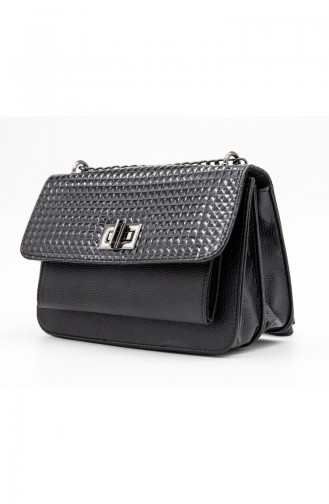 Lady Shoulderbag HM4102-135 Black Patent Leather 4102-135