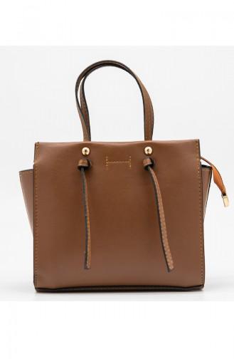 Ladies Cross Shoulder Bag HM4107-19 Tobacco 4107-19