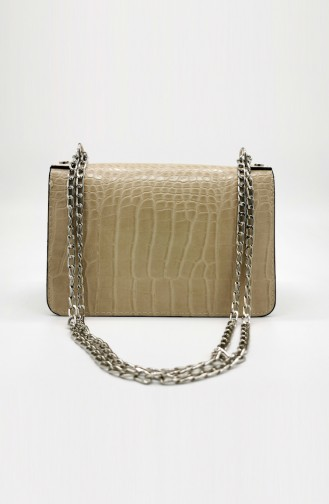 Ladies Shoulder Bag HM4108-74 Mink 4108-74