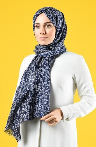 Navy Blue Sjaal 690-112