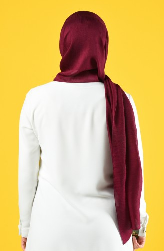 Karaca Silk Cotton Şal 90679-02 Mürdüm
