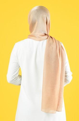 Karaca Silk Cotton Şal 90679-06 Bal köpüğü