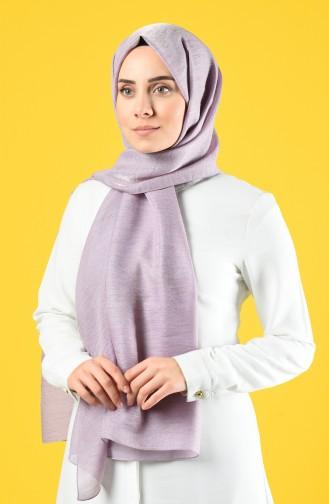 Karaca Silk Cotton Shawl 90679-11 Lilac 90679-11