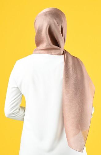 Karaca Silk Cotton Shawl 90679-18 Mink 90679-18