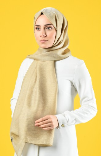 Karaca Silk Cotton Şal 90679-25 Gold