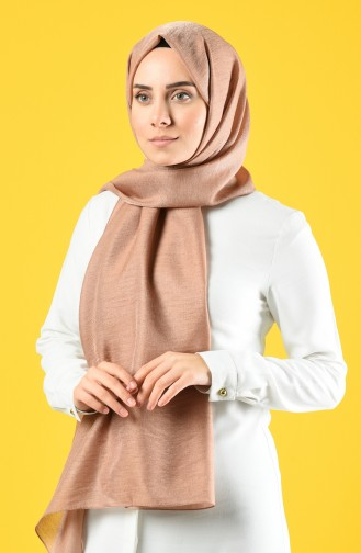 Karaca Silk Cotton Shawl 90679-26 Milk Coffee 90679-26