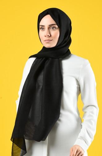Karaca Silk Cotton Şal 90679-27 Siyah