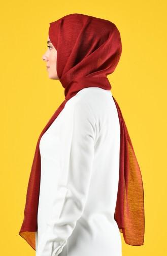 Karaca Silk Cotton Şal 90679-29 Koyu Kırmızı