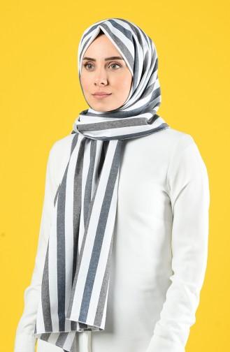 Light Black Sjaal 4639-01