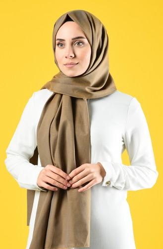 Cotton Shawl 4643-02 Brown 4643-02