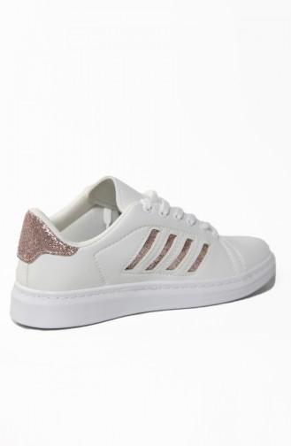 Lady Sport Shoe 30050-08 White Copper 30050-08