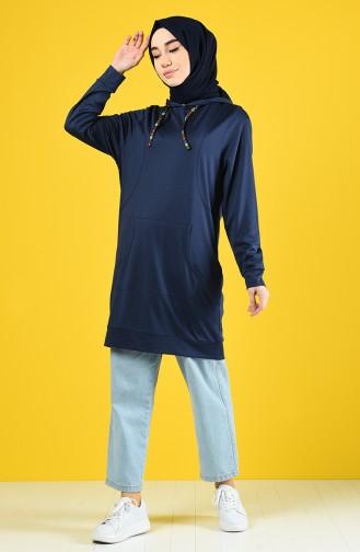 Navy Blue Sweatshirt 8228-06