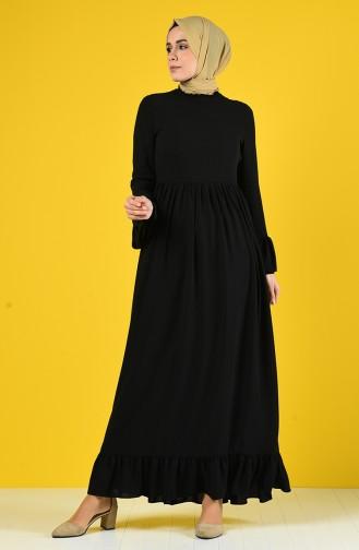 Black İslamitische Jurk 6793-03