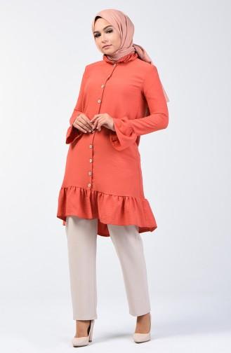 Aeroben Fabric Shirred Tunic 0079-04 Tile 0079-04