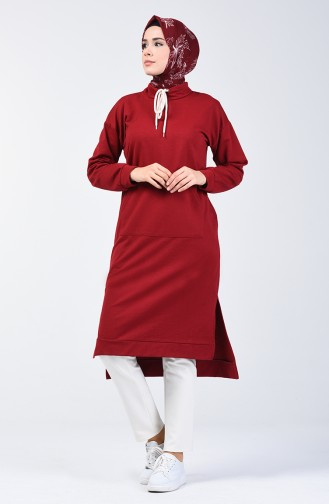 Claret red Tuniek 3149-06