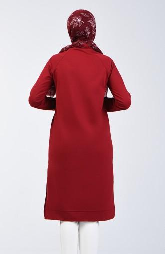 Claret red Tuniek 3150-06