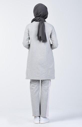 Glitter Garment Track Suit 10331-01 Light Gray 10331-01