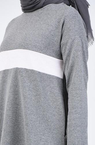 Glitter Garment Track Suit 10331-02 Gray 10331-02