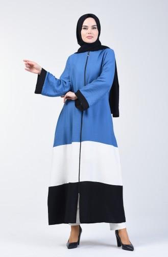 Indigo Abaya 1084-02