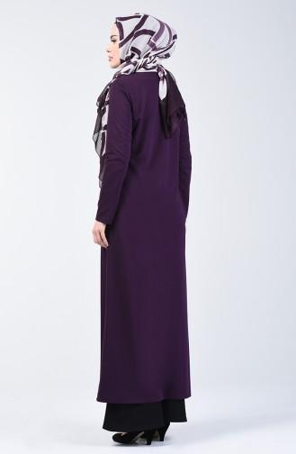 Purple Abaya 3054-02