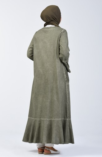 Sile Cloth Abaya 8888-07 Khaki 8888-07
